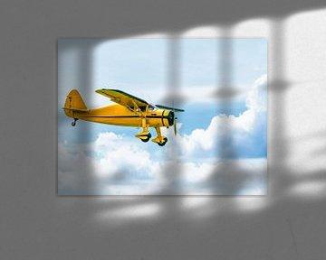 De Gele Baron in de lucht van Barry Jansen