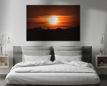 Prachtige zonsondergang van Stedom Fotografie