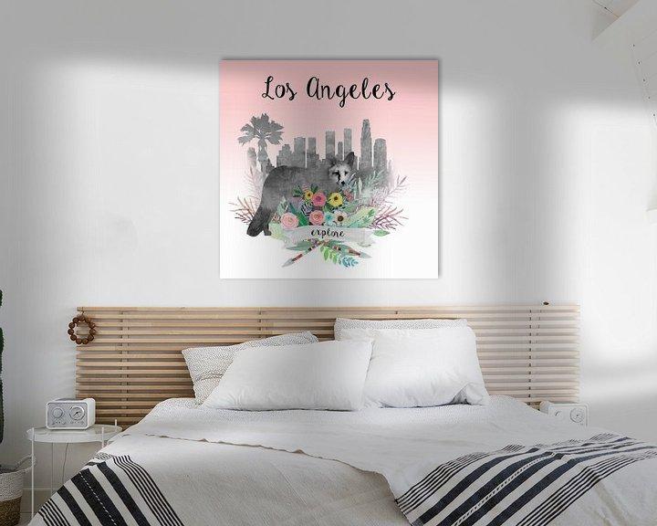 Beispiel: Los Angeles von Green Nest