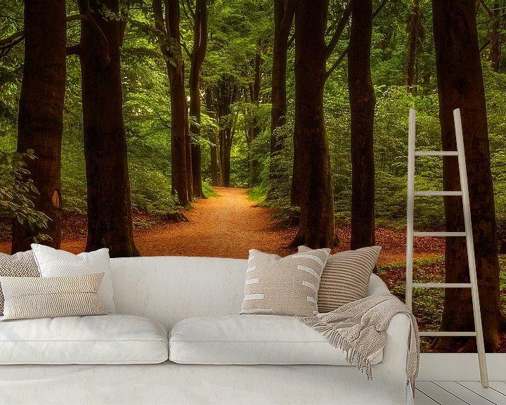 Sfeerimpressie behang: Een wandeling door het park van Tim Abeln