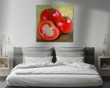 Stillleben mit Tomaten von Andrea Meyer