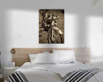 Puch brommer. van PictureWork - Digital artist