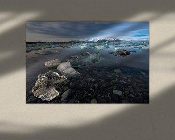 IJsland,Jökullsárlón . van Tilly Meijer