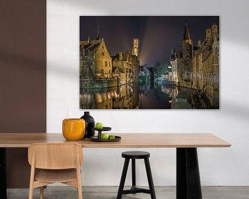 Brugge - België van Bart Hendrix