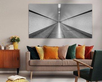 Tunnel St. Anna à Anvers sur MS Fotografie | Marc van der Stelt