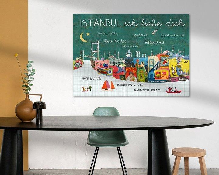 Beispiel: Istanbul – ich liebe dich von Green Nest