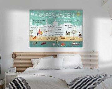 Kopenhagen – ich liebe dich von Green Nest
