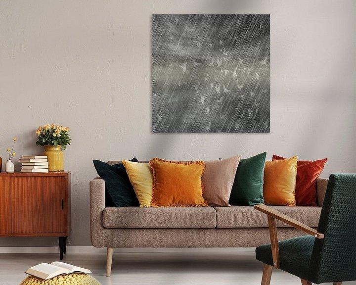 Beispiel: Rainy Landscape N.3 von Olis-Art