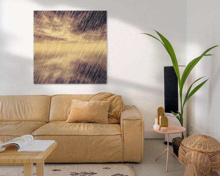 Beispiel: Rainy Landscape N.1 von Olis-Art