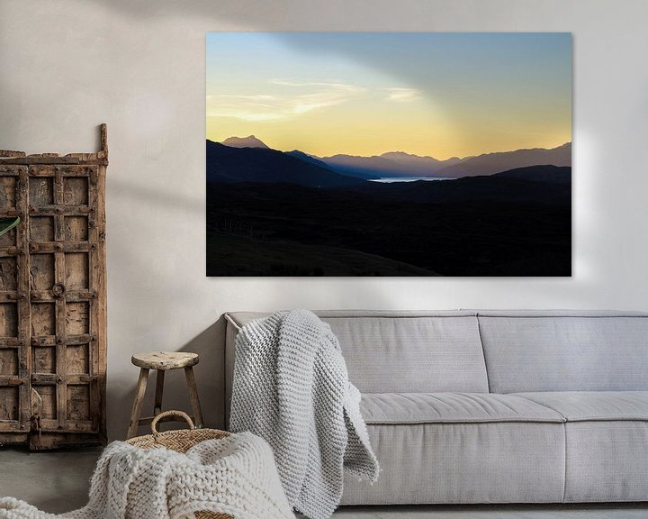 Sfeerimpressie: Zonsopkomst, Isle of Skye van Tomas Grootveld