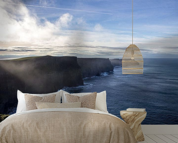 Sfeerimpressie behang: Cliffs of Moher van Tomas Grootveld
