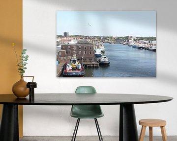 Haven of IJmuiden sur Fela de Wit