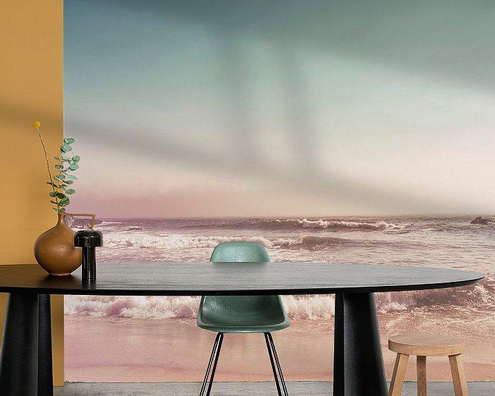 Sfeerimpressie behang: Pfeiffer Beach van Pascal Deckarm