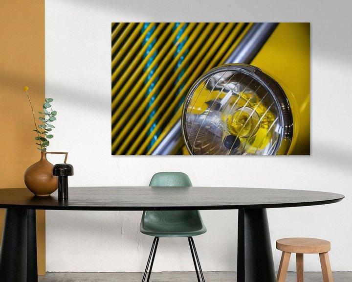 Beispiel: Gele koplamp von Wim Goedhart