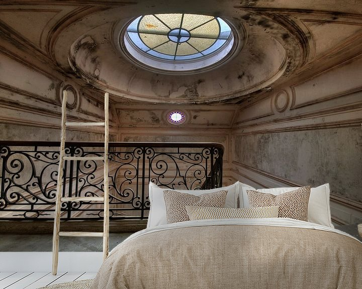 Sfeerimpressie behang: Onder de koepel van Chantal Nederstigt