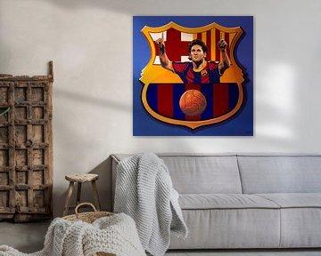 FC Barcelona Barcelona Schilderij von Paul Meijering