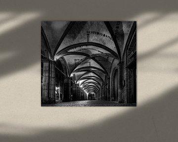 Brugge in Black&White von Erwin van den Berg