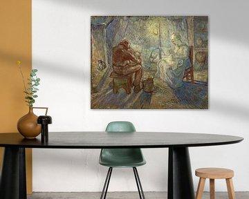 Nacht (nach Millet) - Vincent van Gogh