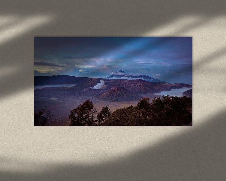 Sfeerimpressie: Bromo vulkaan van Chantal Nederstigt