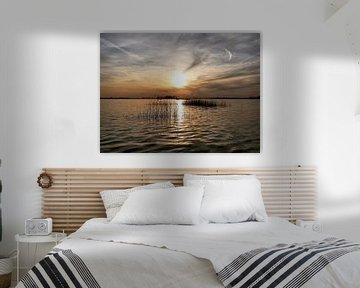 Zonsondergang op Loosdrecht von Danielle Bosschaart