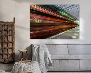 Turn back time - Rotterdam von David Pronk