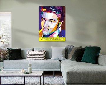 Pop Art Elvis Presley von Doesburg Design