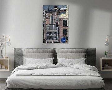 Amsterdam Centrum, doolhof van gebouwen en straatmeubilair von Suzan Baars