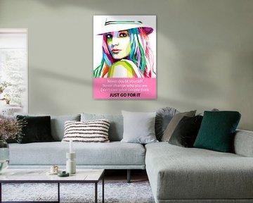 Pop Art Britney Spears von Doesburg Design