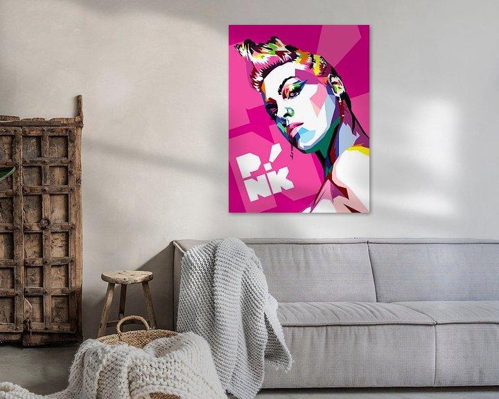 Beispiel: Pop Art Pink von Doesburg Design