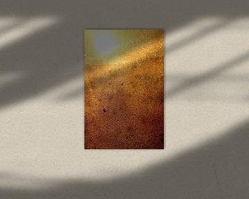 dawn through my wet window von Carola Vanos
