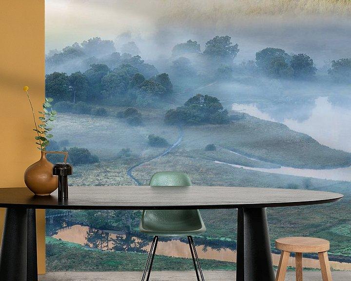 Impression: Fog over Derwent Water sur Ron Buist