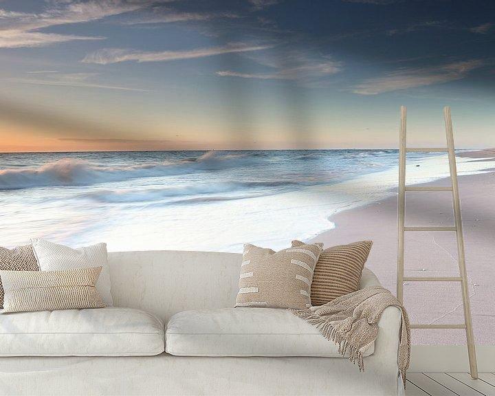 Sfeerimpressie behang: Luister naar de zee van Remco Stunnenberg