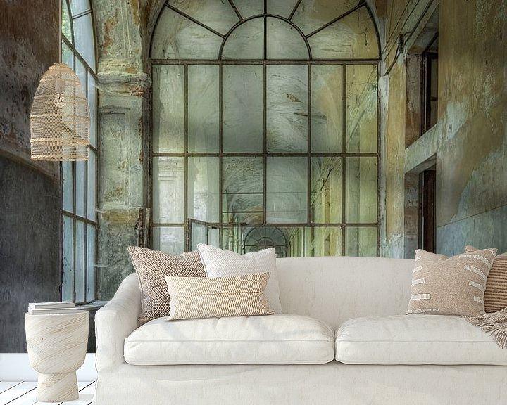 Sfeerimpressie behang: Diepte van Wim van de Water
