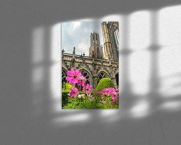 Domturm und Kathedrale Str.-Martins in Utrecht, die Niederlanden von Sjoerd van der Wal