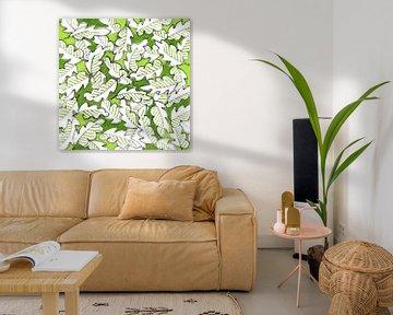 Grüne Blätter von ART Eva Maria