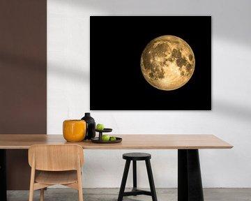 la Lune sur Marcel Pietersen