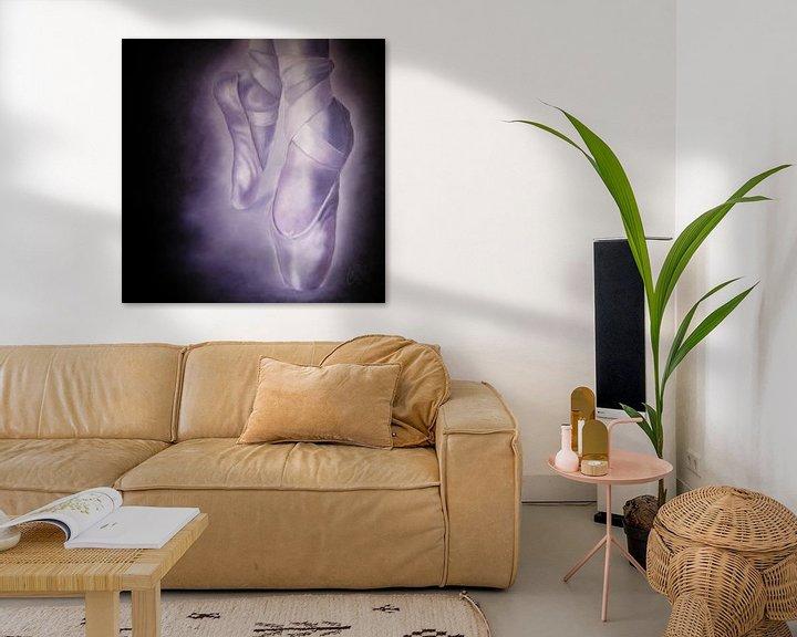 Impression: Paars/zwart - Purple Black sur Christoph Van Daele