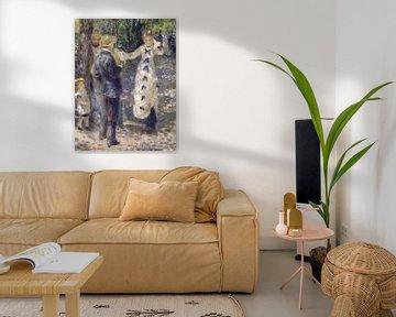 Auf der Schaukel - Pierre-Auguste Renoir