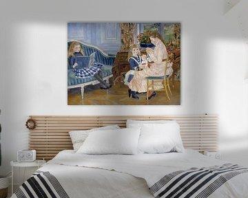 Nachmittag der Kinder in Wargemont - Renoir