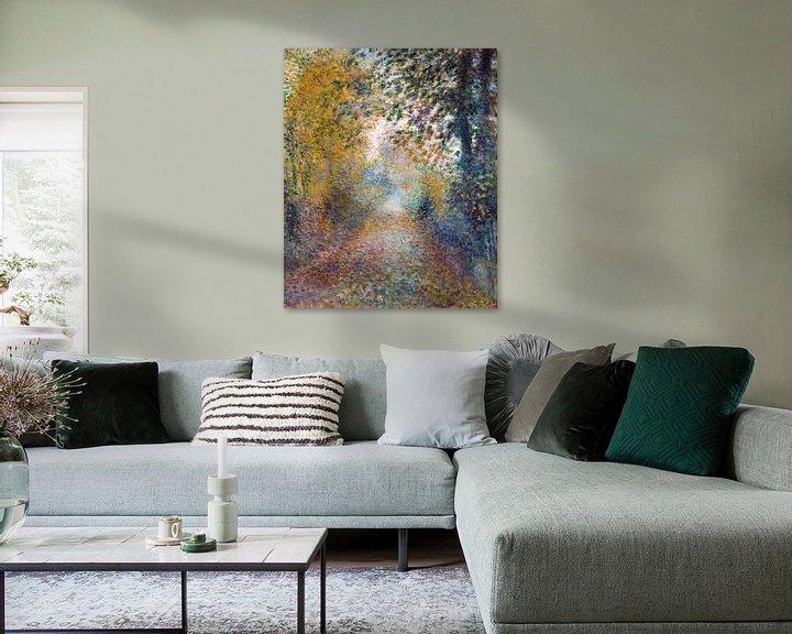 Beispiel: Im Wald – August Renoir