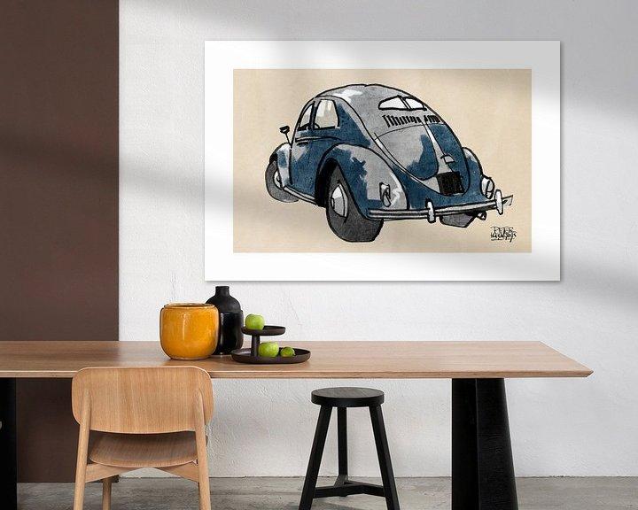 Sfeerimpressie: VW kever van Pieter Hogenbirk