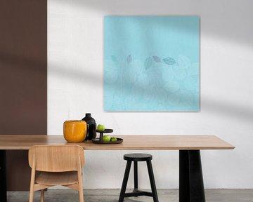 LEAVES ENSEMBLE BLUE von Pia Schneider