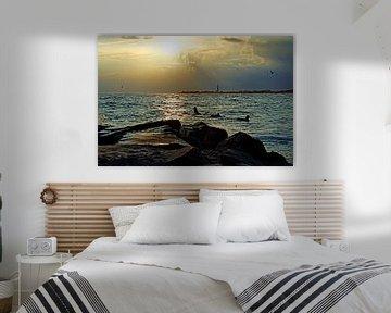 Cape May Sonnenuntergang von Borg Enders