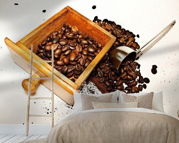 Sfeerimpressie behang: koffie 2 van Norbert Sülzner