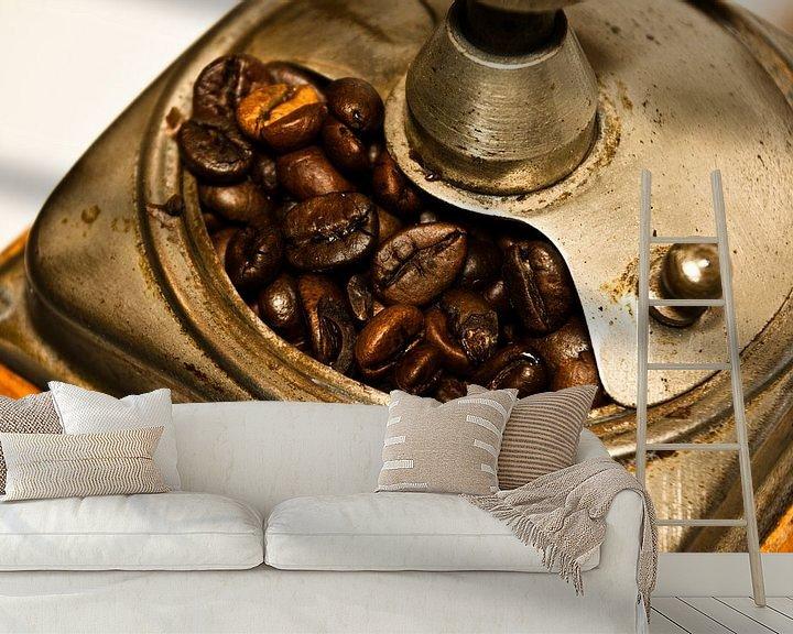 Sfeerimpressie behang: koffie 3 van Norbert Sülzner