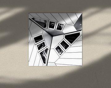 Cube house   detail sur Rob van der Pijll