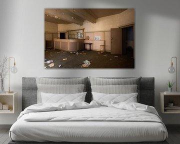 Rezeption eines verlassenen Kino. von Roman Robroek