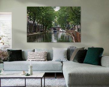 De Oude Gracht in Utrecht von Cilia Brandts