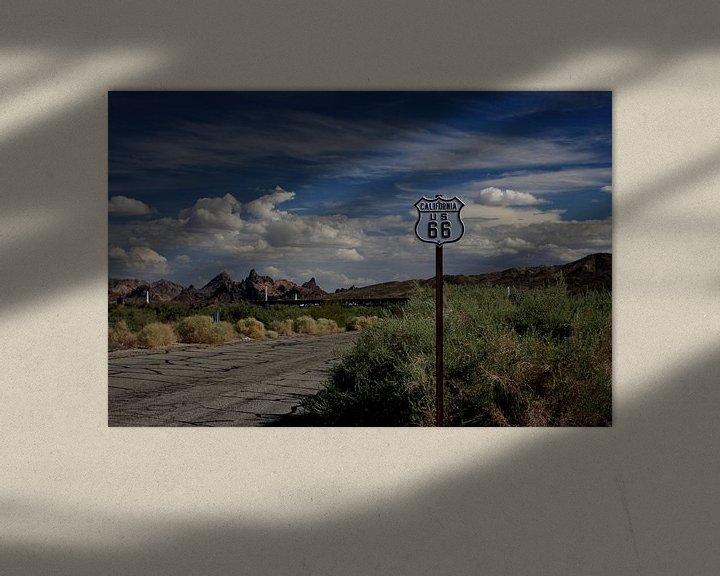 Impression: Route 66 in Californie/Arizona sur Louise Poortvliet