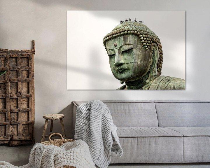 Beispiel: Boeddha beeld in Kamakura, Japan von Marcel Alsemgeest